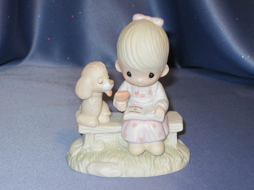 "Jonathan & David ""Loving is Sharing"" Figurine by Enesco."
