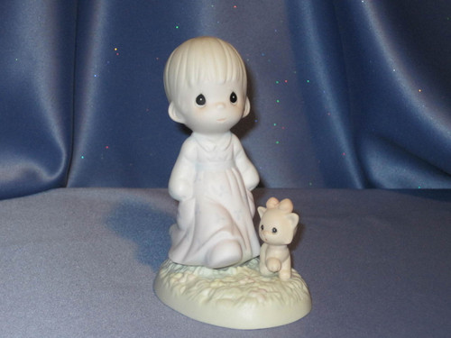 "Precious Moments ""Walk in the Sonshine"" Figurine by Enesco W/Comp Box."