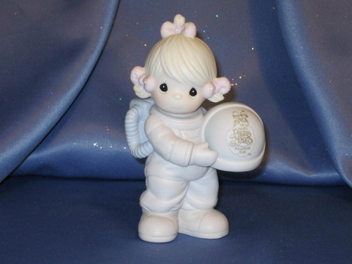 "Precious Moments ""The Club That's Out Of This World"" Figurine by Enesco W/Comp Box."