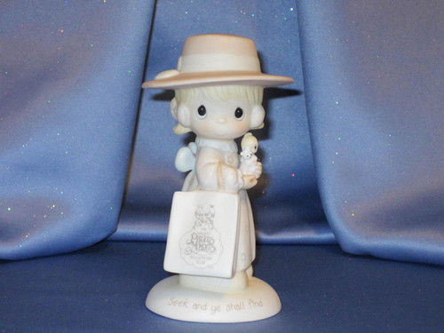 "Precious Moments ""Seek And Ye Shall Find"" Figurine by Enesco W/Comp Box."