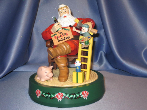 Coca-Cola - Santa Claus with Toys - Coin Bank by ERTL.