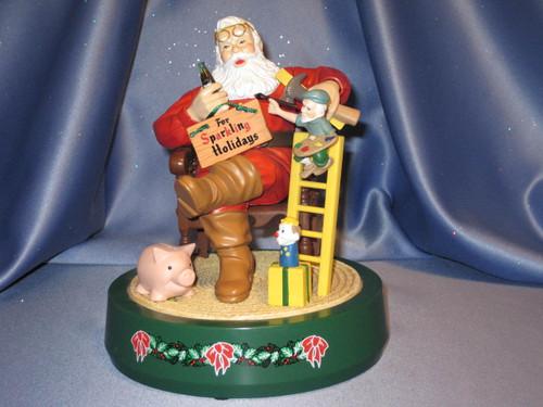 Coca-Cola - Santa Claus with Toys - Coin Bank by ERTL.