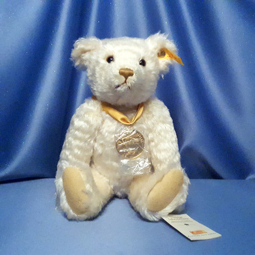 Steiff Millennium Bear by Danbury Mint.