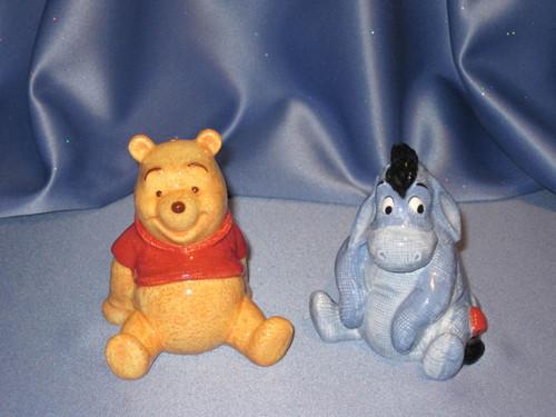 Winnie The Pooh and Eeyore - Salt & Pepper Shaker Set by Disney.