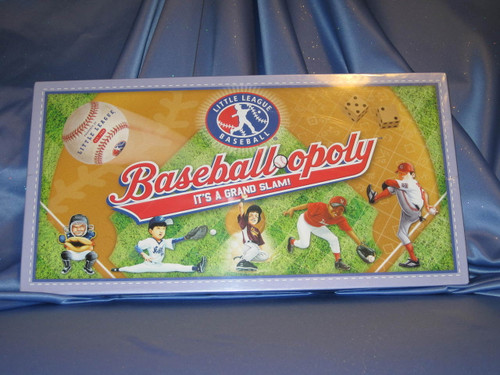 Baseball-opoly Little League Game.