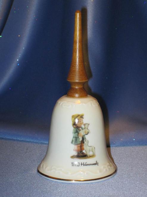 Shepherd's Boy Bell by M. I. Hummel.