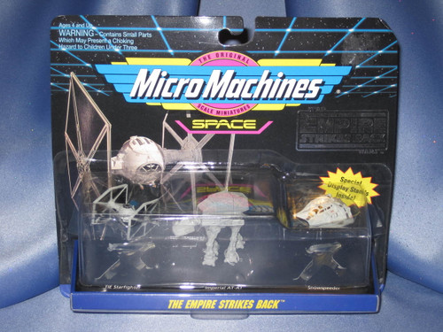 Star Wars - The Empire Strikes Back - Micro Machines Collection by Galoob.