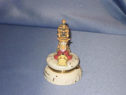 "Disney ""The Bouncy Pouncy"" Treasure Box by Lenox."