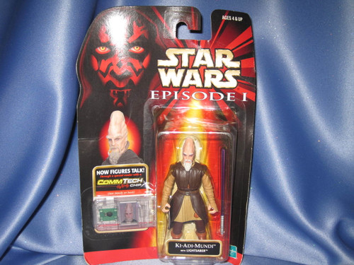 Star Wars The Phantom Menace Episode I Ki-Adi-Mundi Action Figure by Hasbro.