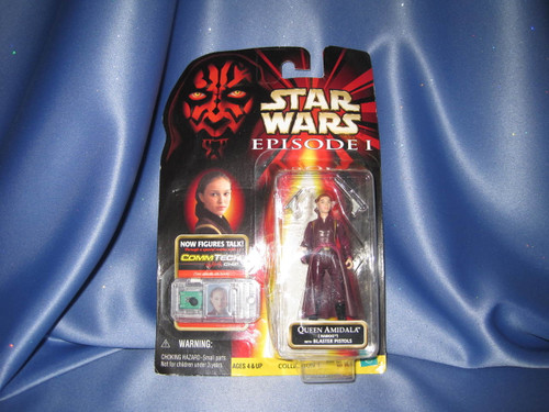 Star Wars The Phantom Menace Queen Amidala Action Figure by Hasbro.