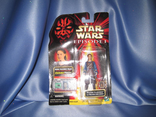 Star Wars The Phantom Menace Episode I Padme Naberrie Action Figure by Hasbro.