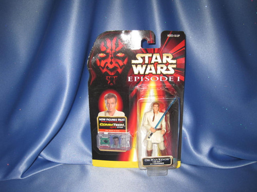 Star Wars The Phantom Menace Episode I Obi-Wan Kenobi Action Figure by Hasbro.