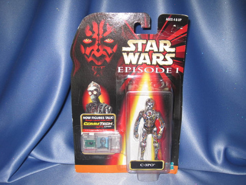 Star Wars The Phantom Menace Episode I C-3PO Action Figure by Hasbro.