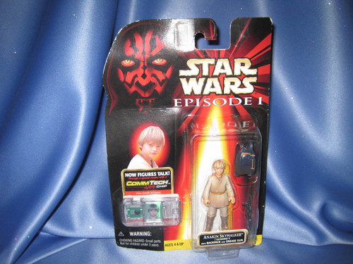 Star Wars The Phantom Menace Episode I Anakin Skywalker Action Figure by Hasbro.