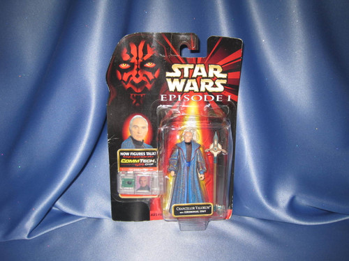 Star Wars The Phantom Menace Episode I Chancellor Valorum Action Figure by Hasbro.