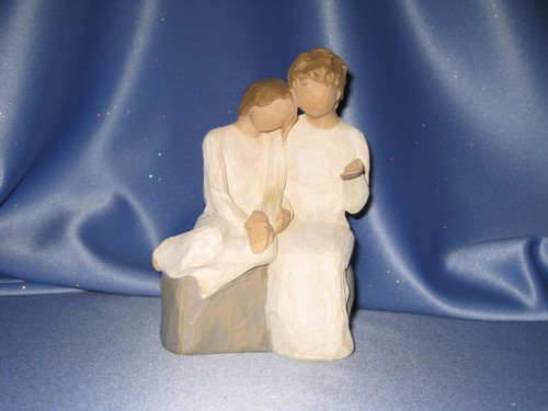 """Willow Tree """"With my Grandmother"""" Figurine by Demdaco."""