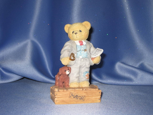 Cherished Teddies - Mayor Wilson T. Beary W/Comp Box.