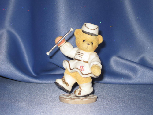 Cherished Teddies - Vivienne - Figurine W/Comp Box.