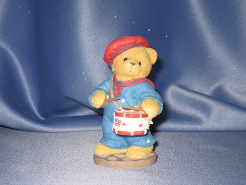 Cherished Teddies - Walter - A Members Only Figurine W/Comp Box.