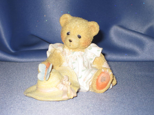 "Cherished Teddies Courtney ""Springtime Is A Blessing From Above"" Figurine W/Comp Box."