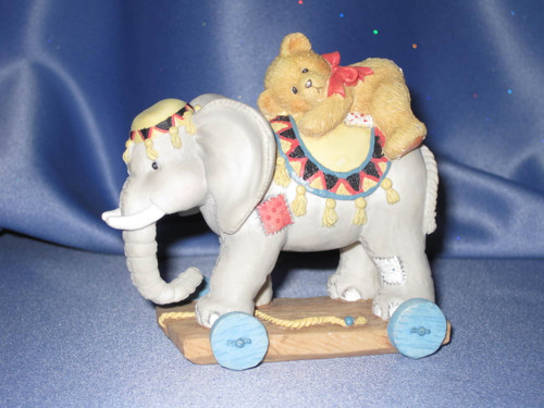 "Cherished Teddies Elephant ""Trunk Full Of Bear Hugs"" Figurine W/Comp Box."