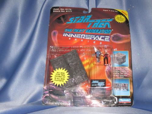 Star Trek - The Next Generation Innerspace - Borg Ship Mini Playset.