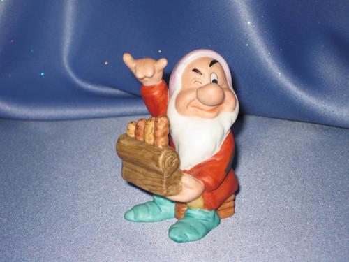 Grumpy the Dwarf Figurine by Disney W/Comp Box.