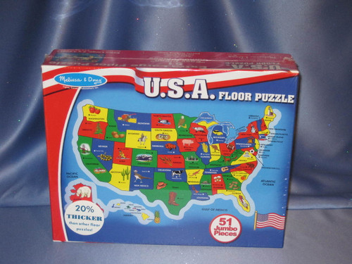 U.S.A. Floor Puzzle by Melissa & Doug.