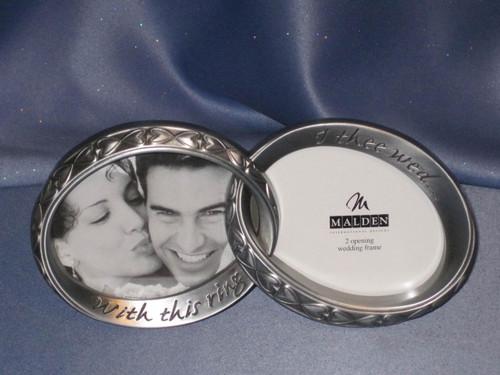 Wedding Frame Rings by Malden.
