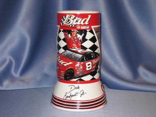 Bud Beer NASCAR 2001 Dale Earnhardt Jr. Stein.