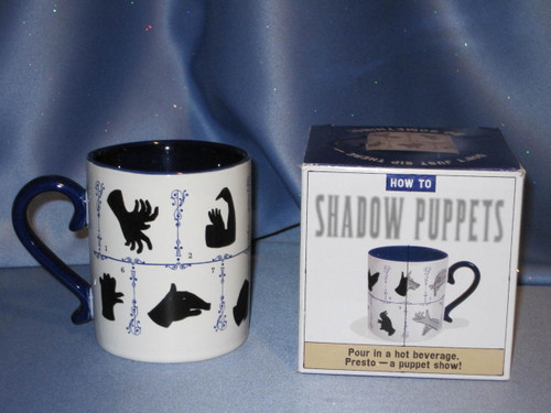 How To Shadow Puppets Mug.