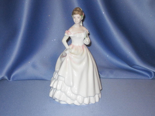 Kaitlyn Porcelain Figurine by Royal Doulton.