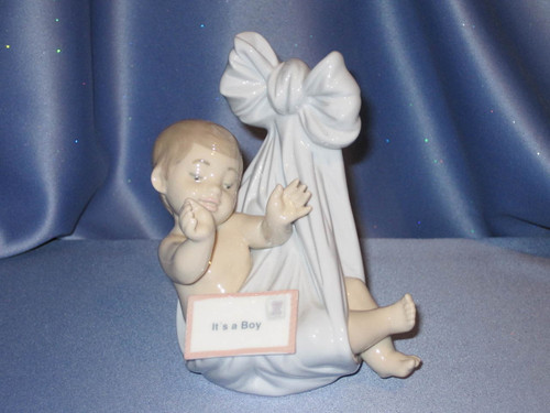 Heaven's Gift (It's a Boy) Figurine by Lladro.