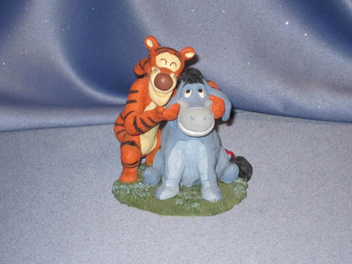 Simply Pooh: Eeyore & Tigger Figurine by Disney.