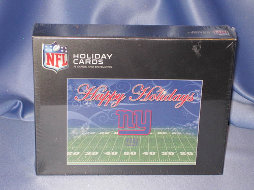 NFL New York Giants Holiday Cards by Perfect Timing.