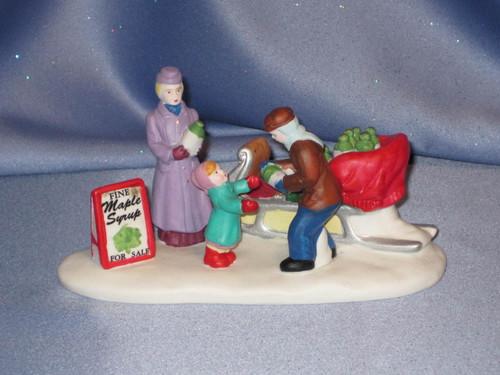 "Hearthside Village Collection ""Porcelain Maple Season"" Figure by Lenox."