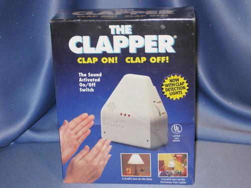 THE CLAPPER CLAP ON! CLAP OFF!.