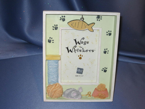 Wags to Whiskers - Handpainted Frame by Russ Berrie & Co.