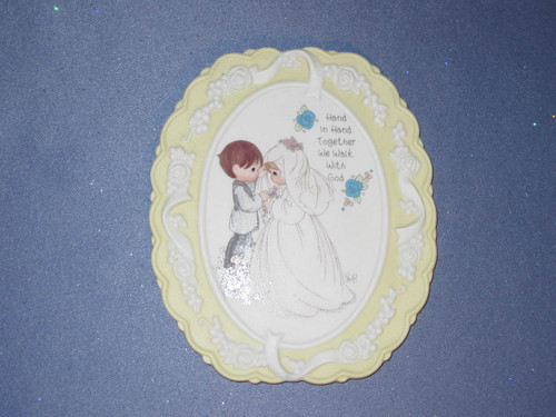 Precious Moments - Sweet Inspirations - Plaque by Enesco - W/Box.