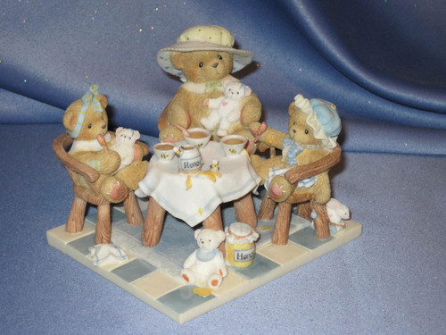 "Cherished Teddies - Mimi, Darcie And Misty - ""Theres Always Time For Friends... by Enesco W/Box."