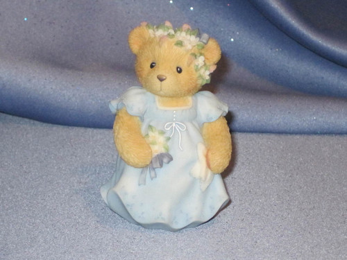 Cherished Teddies - Bridesmaid Figurine W/Box by Enesco.