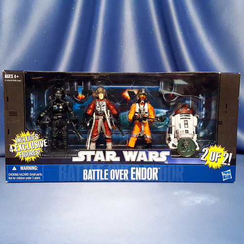 Star Wars - Battle Over Endor - Exclusive 2 of 2 by Hasbro.