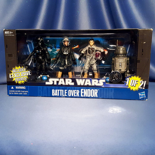 Star Wars - Battle Over Endor - Exclusive 1 of 2 by Hasbro.