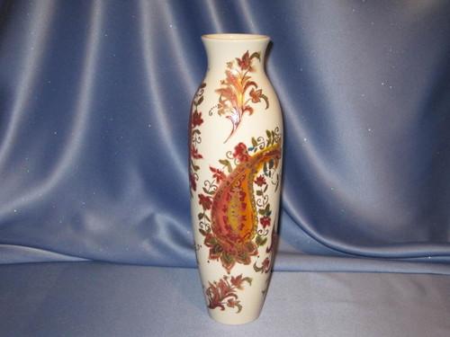 Burnished Amber Vase by Lenox.