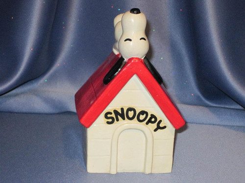 Snoopy Napping on His Doghouse - U.F.S.