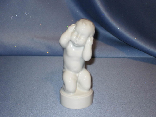 Boy with Earache Figurine by Bing & Grondahl.