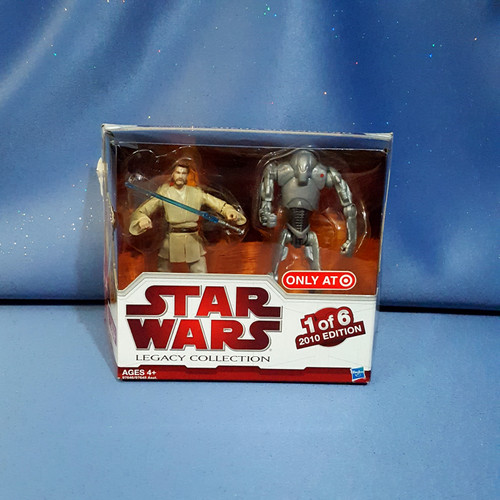 Star Wars - Legacy Collection - Obi-Wan Kenobi and Super Battle Droid - 1 of 6 - 2010 Edition.