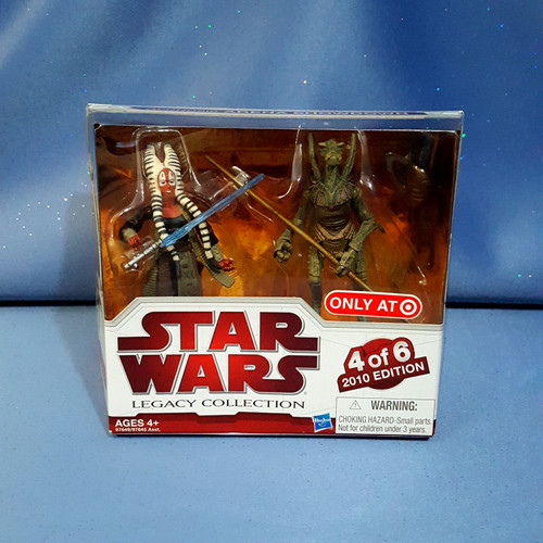 Star Wars - Legacy Collection - Skaak Ti and Geonosian Warrior - 4 of 6 - 2010 Edition.