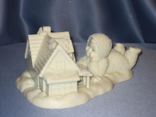 """Snowbabies """"Light It Up"""" Figurine."""