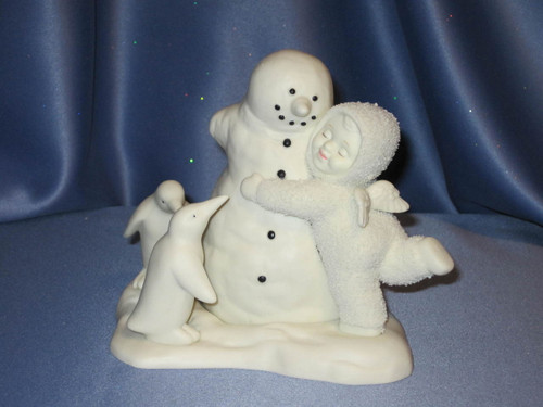 "Snowbabies ""All We Need Is Love"" Figurine."